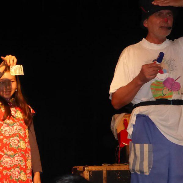 Märchenfest - Szene aus dem Stück