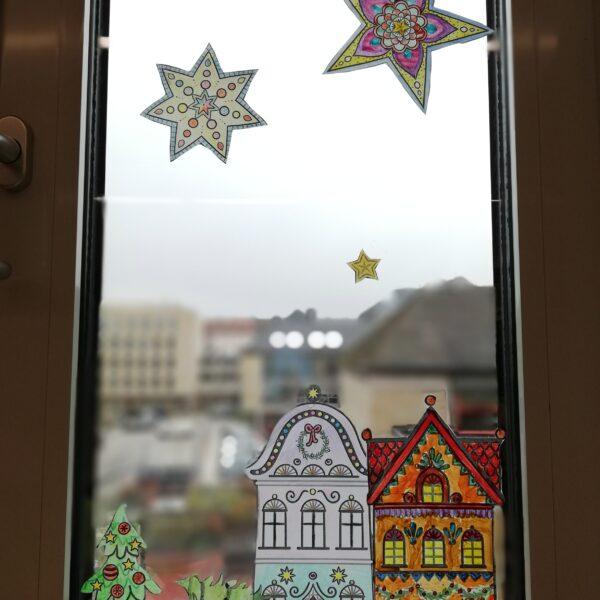 Fensterdeko Weihanchten